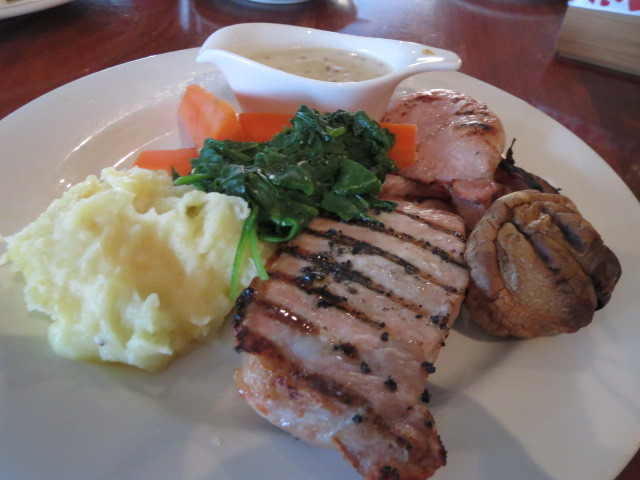 Payneham Tavern, Pork Sirloin with Seeded Mustard Sauce, Adelaide