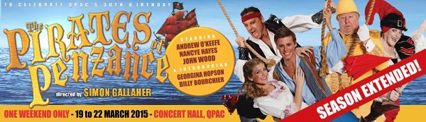 pirates of penzance, harvest rain, qpac, musicals brisbane