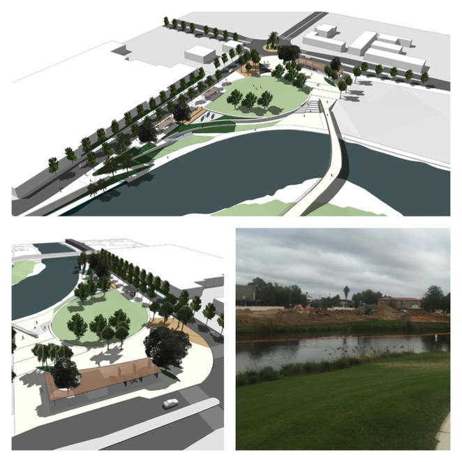 Queanbeyan River Quean Elizabeth Park Plans Upgrade