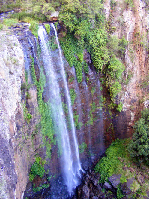 The spectacular Queen Mary Falls