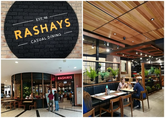 rashays, woden, westfield shopping centre, family friendly, cafe, restaurant, breakfast, lunch, dinner, coffee, hoyts