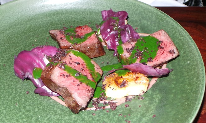 Red Cabbage food and wine
