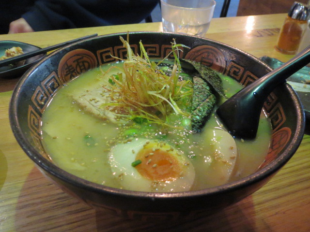 Ryo's Noodles, Ramen in Fish & Pork Stock with Fried Leek, Adelaide