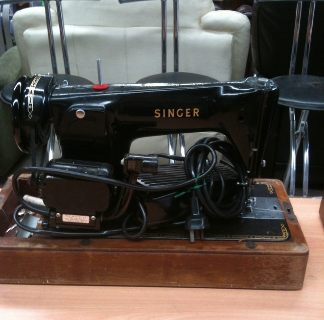 singer, sewing machine, antique
