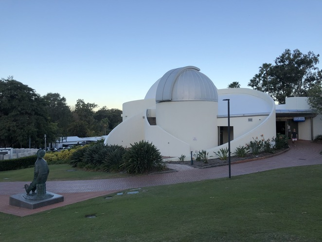 Sir Thomas Brisbane Planetarium - first opened in 1978, now reopening following the COVID19 pandemic