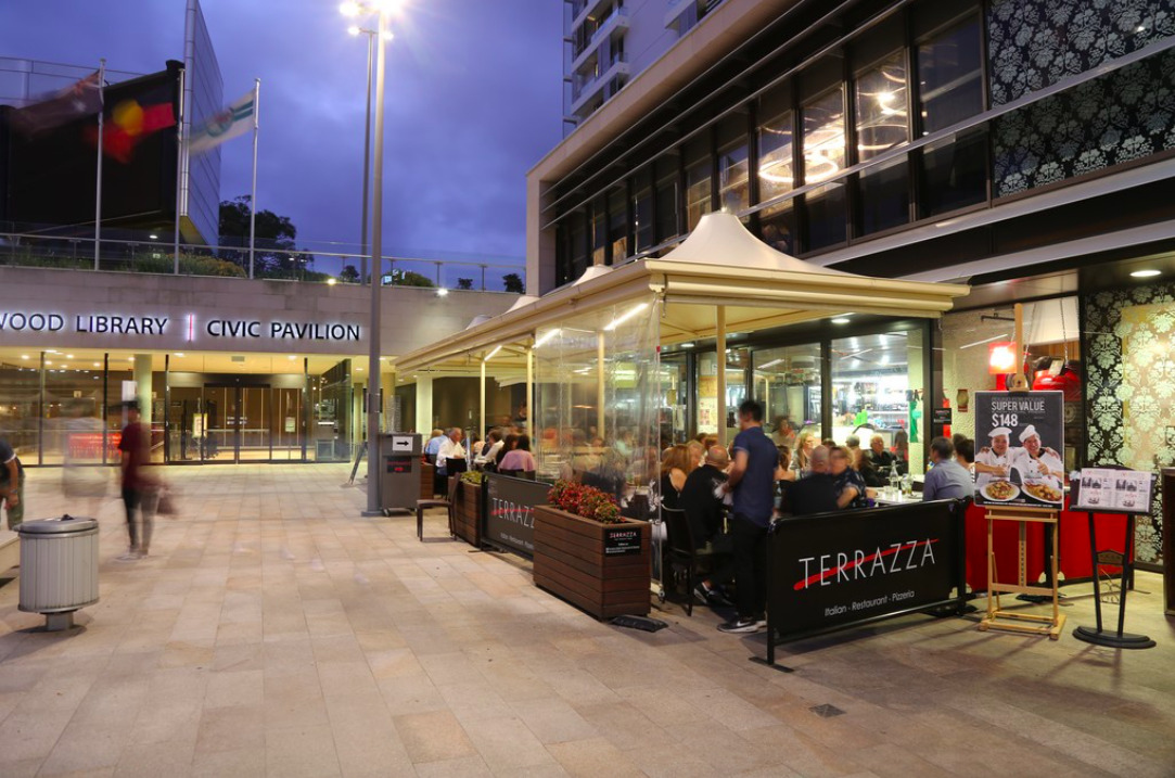 Terrazza Italian Restaurant And Pizzeria Chatswood Sydney