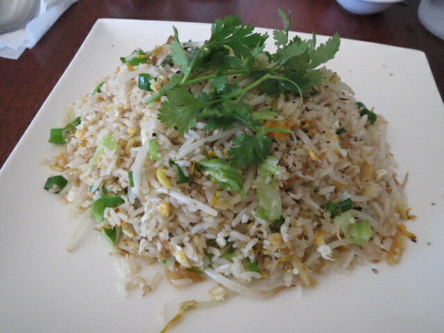 Thanh Viet Restaurant, Salty Fish Fried Rice, Adelaide
