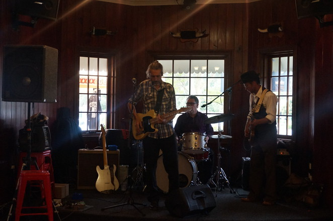 The Band at Glass House Mountains