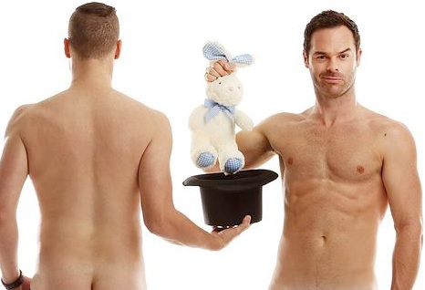 the naked magicians, magician show, perth fringe world magic, mike tyler, christopher wayne