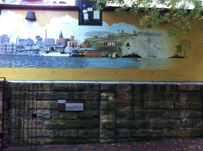 The Rocks Discovery Museum Mural