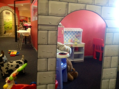 Tiddlywinks toddler area