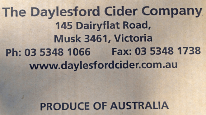 Victoria Melbourne Daylesford Christmas July Central Goldfields Cider Ciders Travel Get Out Of Town Escape The City