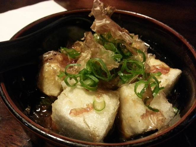 wagaya, agadashi tofu, lunch fortitude valley, dinner fortitude valley
