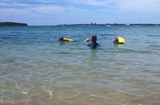 Always check weather and tide conditions before heading out on the water, especially with kids