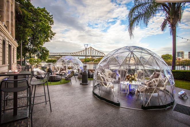 winter events brisbane, winter festivals brisbane, family events brisbane, food events brisbane, food festivals brisbane, absolut igloo bar, customs house