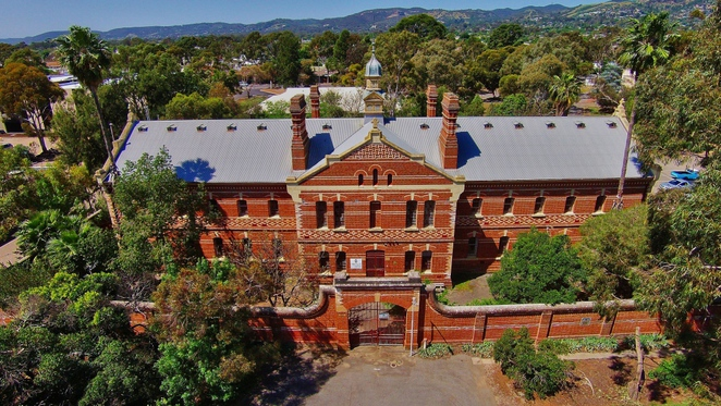 z ward, z ward glenside, glenside hospital, national trust sa, criminally insane, open day, adelaide gaol, free things to do, aerial view