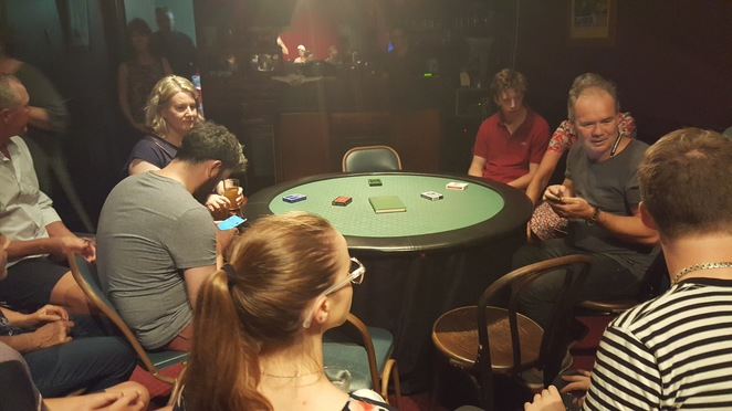 Adelaide Fringe 2018, Expert At The Card Table
