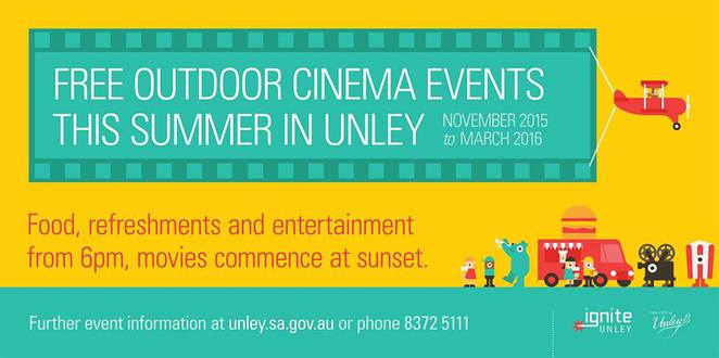Adelaide, Unley, Cinemas, Outdoor, The Intouchables, French, Movie