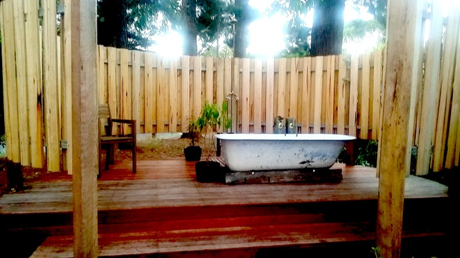airbnb the studio somers outdoor bath