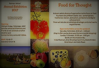 Art Exhibition: Food For Thought