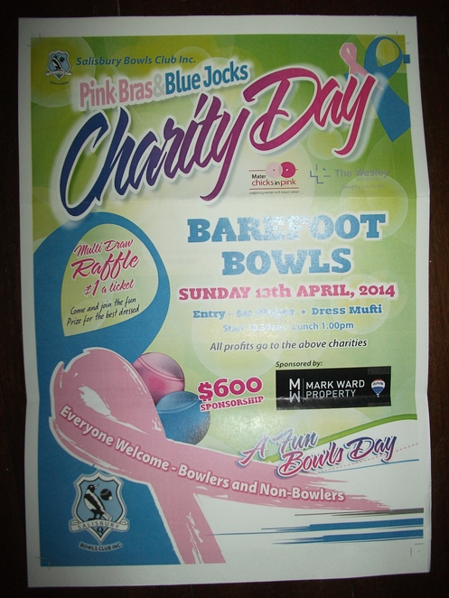 Barefoot bowls, Salisbury, charity, fundraiser, Chicks in Pink