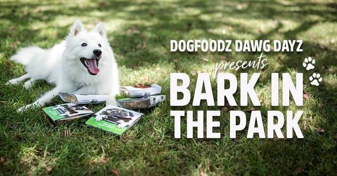 bark in the park, dogfoodz, youfoodz, dog event, dog friendly, dog park, dog food, food delivery, Brisbane, competition, best dressed, sample, free, powerhouse park, new farm, jan powers farmers markets
