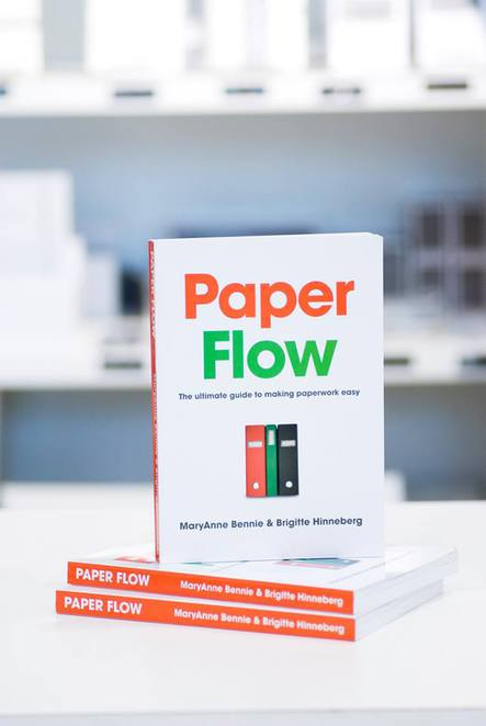Book: Paper Flow - your ultimate guide to making paperwork easy