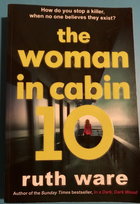Books, reading, recommendations, Ruth Ware, The Woman in Cabin 10
