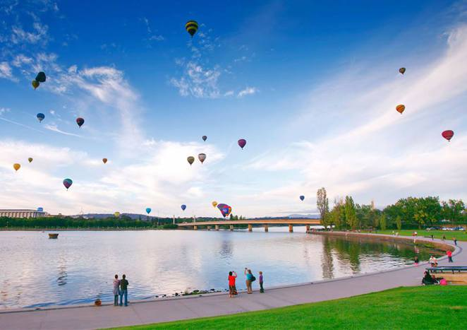 canberra balloon spectacular 2017, canberra, ACT, events, families, march,