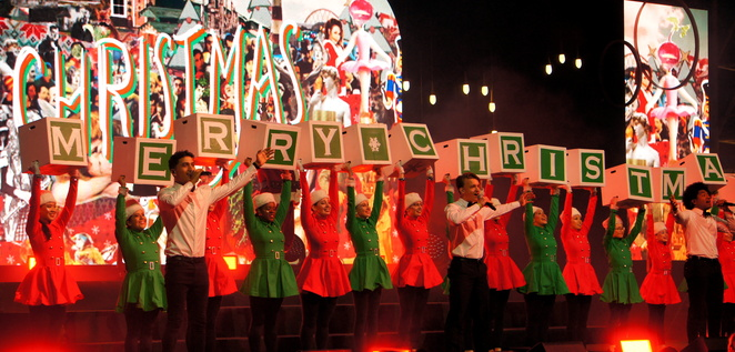 Yes, there will be Christmas events around Australia, but you probably need to book your free tickets in advance