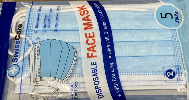 Surgical face masks are widely available online and in many shops across Australia