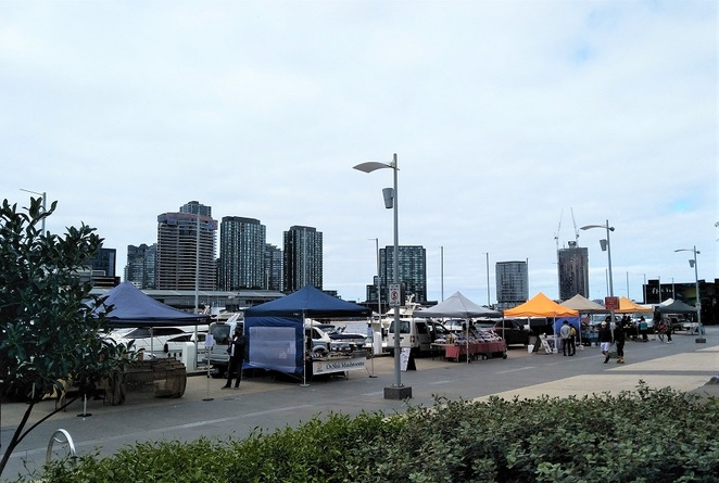 docklands community farmers market