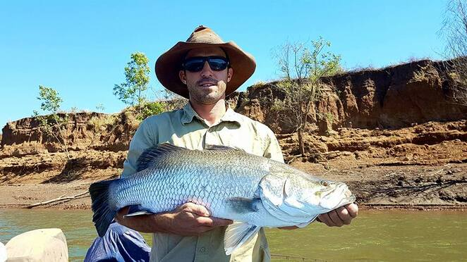 fishing barramundi