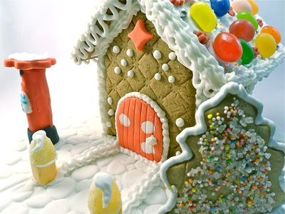Gingerbread house by Andrew Kelsall