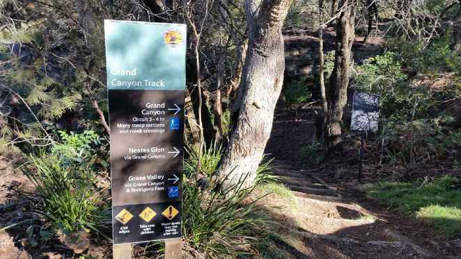 Grand Canyon Track, Neates Glen, evans lookout