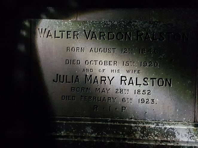 Grave Ralston Brisbane Scary View