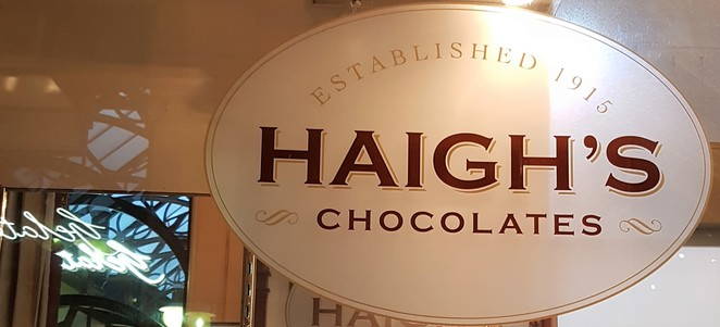 Haighs, Melbourne, walking tour