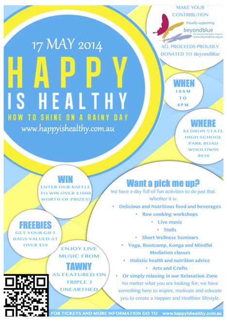 Happy is Healthy