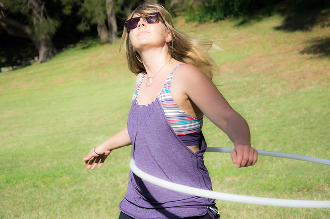hula hooping, milsons point, the hoop tribe, course, fitness
