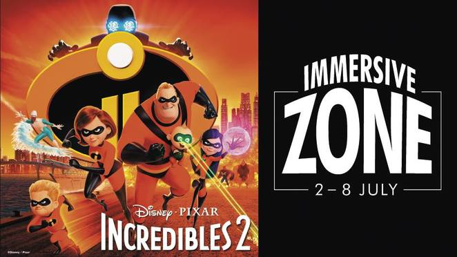 incredibles 2 immersive zone, community event, fun things to do, fun for kids, school holiday activities, school holiday fun, garden city perth, booragoon, promotions court, woolworths, win a movie pack