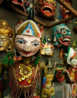 Indonesian toys will be on sale at the markets