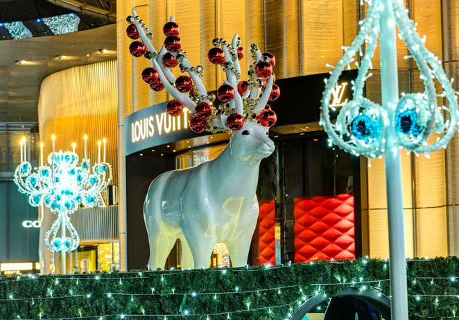 ION orchard, Orchard Road christmas light up, Singapore christmas sale