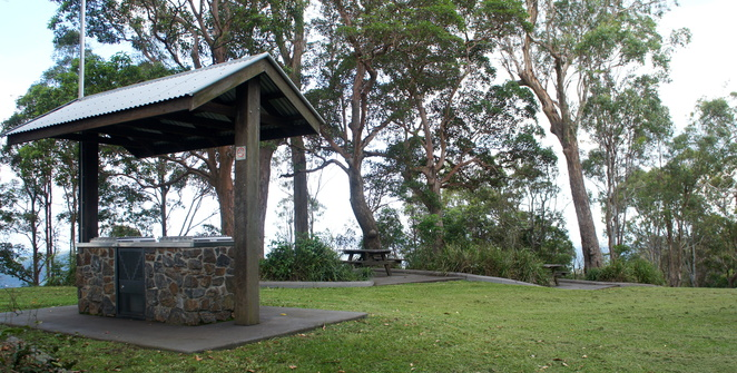 Jolly's lookout is a very popular place to visit or enjoy lunch