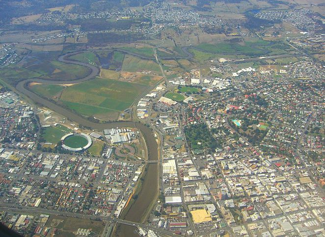 Launceston, Aerial