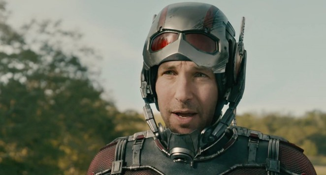 Marvel's Ant-Man - Paul Rudd as Scott Lang suits up