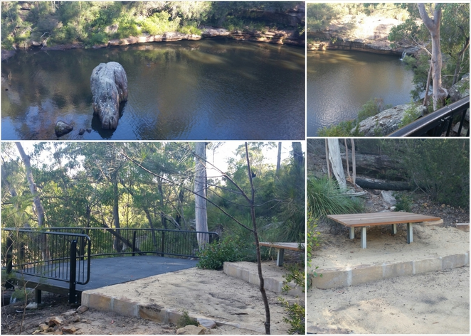 minerva pool walk, dharawal national park, lookout platform, picnic spot