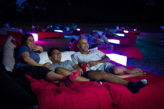 Mov'In Bed, Mov'In Bed Open Air Cinema, Mov'In Bed PicNik Cinema, Open Air Cinema, Movies, Outdoor Cinema