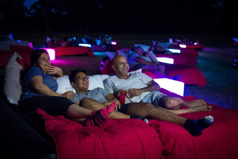 MovIn Bed Open Air Cinema