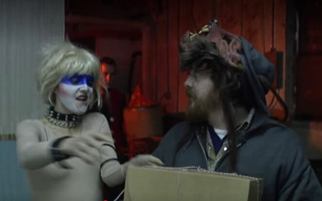 Murder Party, wolfman, movie, scary movie, independent horror film, Macon