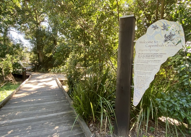 Visit Myora Springs, or Capembah, that is one of the many culturally significant sites open for tourists to visit